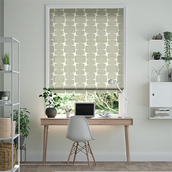 Lohko Granite Roman Blind