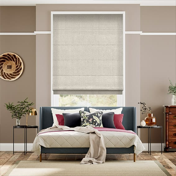 Lucerna Neutral Roman Blind