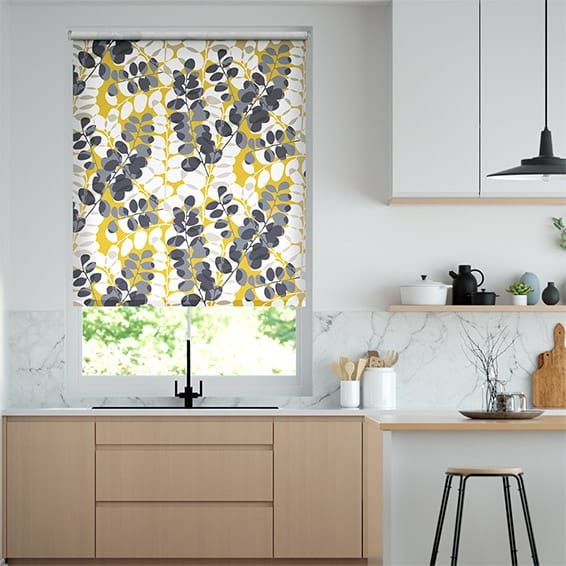 Lunaria Sunflower Roller Blind