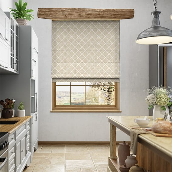 Lyssa Neutral Roman Blind