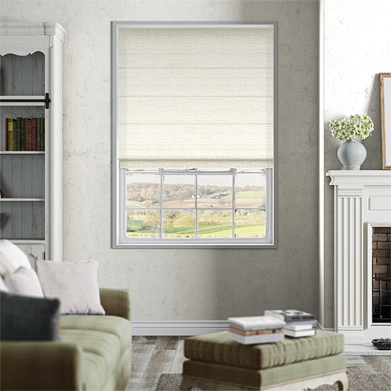 Mallay Soft Cream Roman Blind