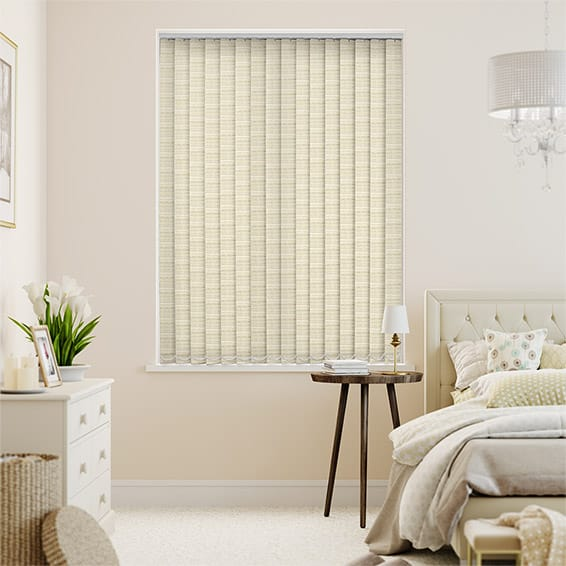Marco Peach Melba Vertical Blind