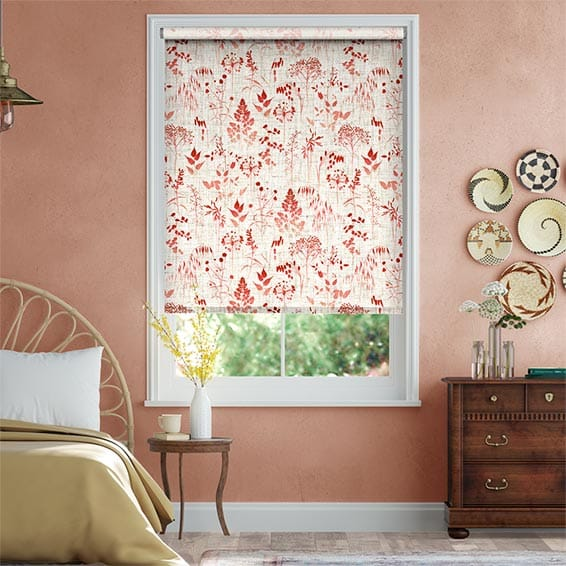 Meadow Coral Roller Blind