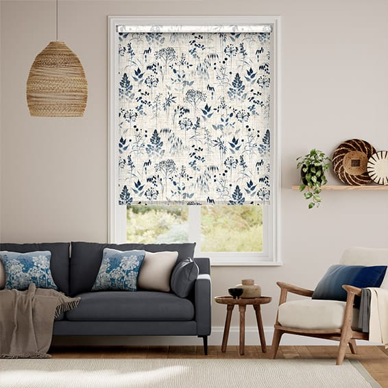 Meadow Midnight Roller Blind