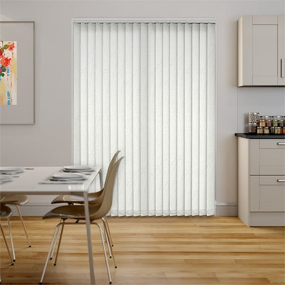 Menderes Chalk Vertical Blind