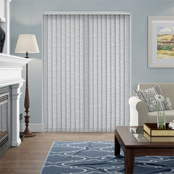 Meribel Flannel Vertical Blind
