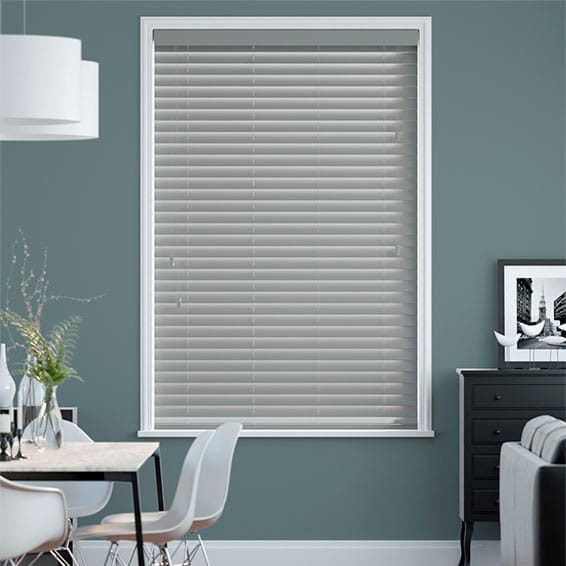 Metropolitan Iron Wooden Blind - 50mm Slat