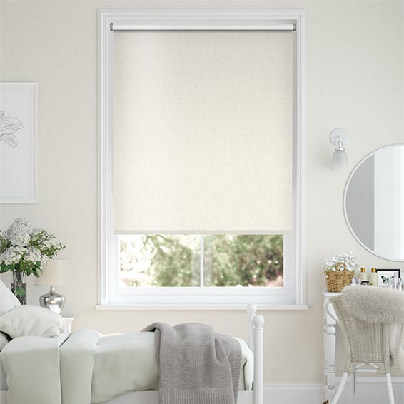 Midas Blackout Metallic Pearl Roller Blind