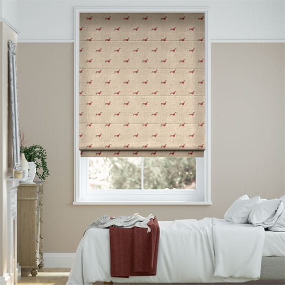 Mini Dachshunds Roman Blind