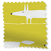 Mr Fox Mini Lime Roman Blind slat image
