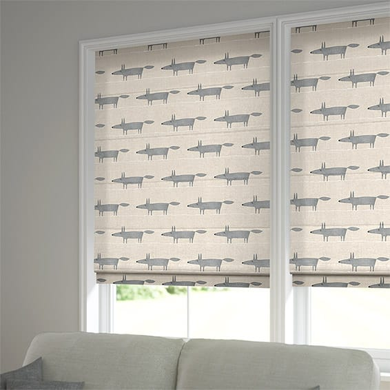 Roman Blinds Stunning Mr Fox Scion Blinds 2go