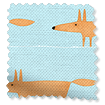 Mr Fox Mini Sky Roman Blind slat image