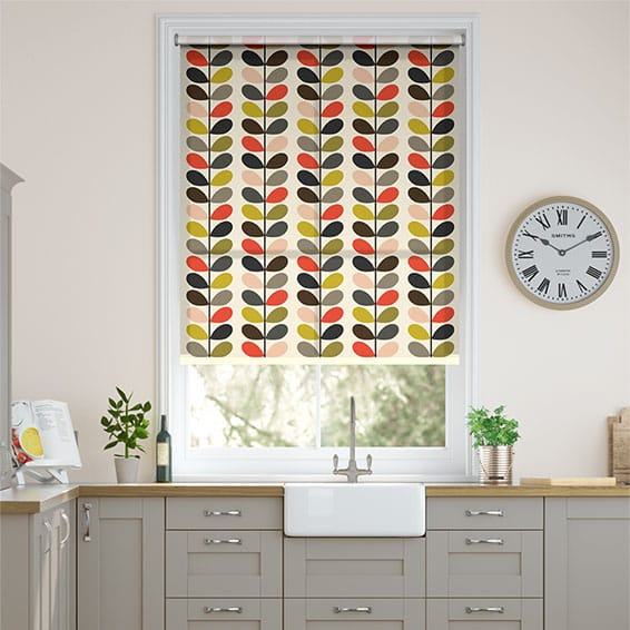 Multi Stem Tomato Roller Blind