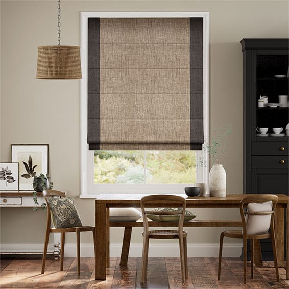 Napier Bisque Roman Blind