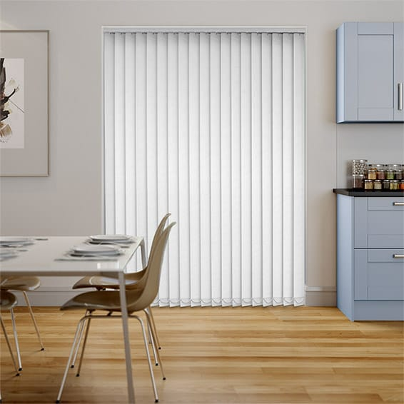 Neblina Lilywhite Blackout Vertical Blind
