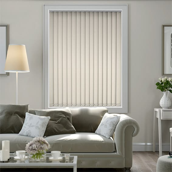 Neblina Soft Cream Blackout Vertical Blind