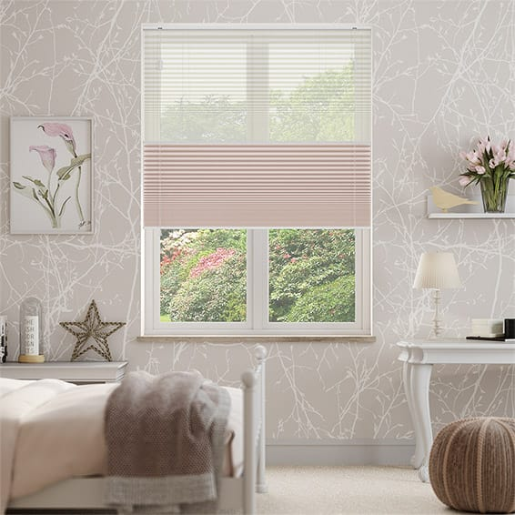 Night & Day Duo Voile Dusk Pleated Blind