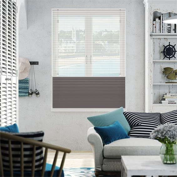 Night & Day Duo Voile Storm Pleated Blind