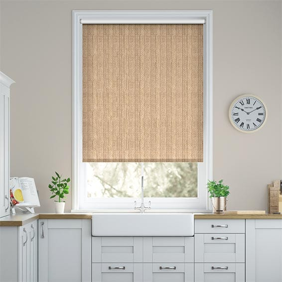 Northumberland Wicker Blackout Roller Blind