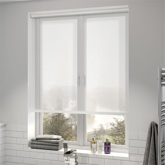 Oculus Simply White Magic Screen Roller Blind