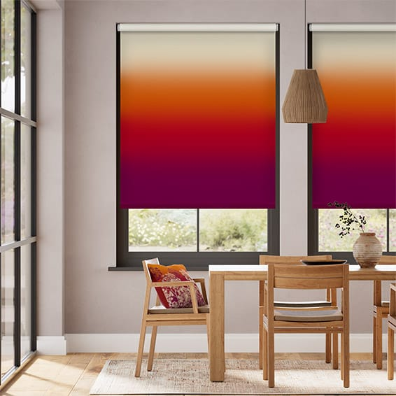 Ombre Sunset Roller Blind