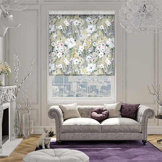 Orchid Lace Roller Blind