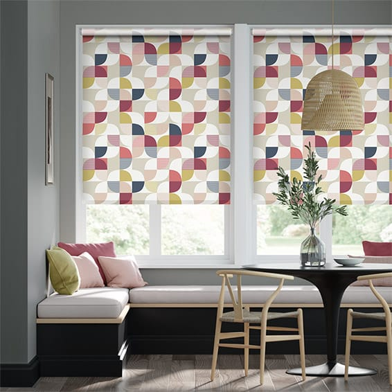 Ottil Berry Crush Roller Blind