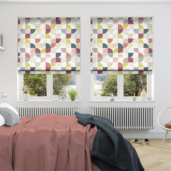 Ottil Berry Crush Roman Blind