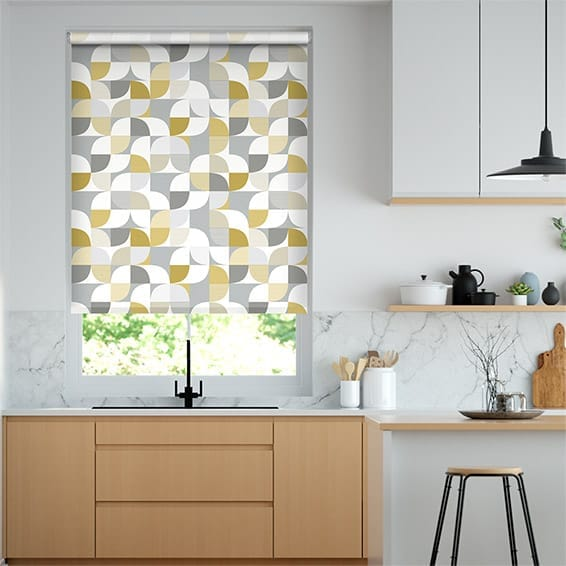 Ottil Ochre Roller Blind