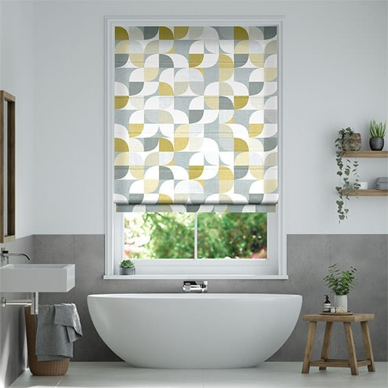 Ottil Ochre Roman Blind