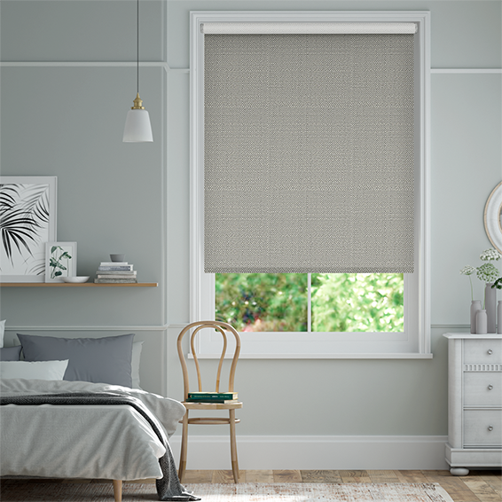 Choices Paleo Linen Smoke Roller Blind