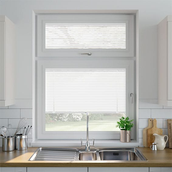 Matt White PerfectFIT Venetian Blind