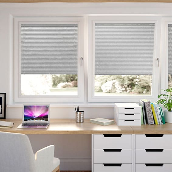Scintillating Silver PerfectFIT Venetian Blind