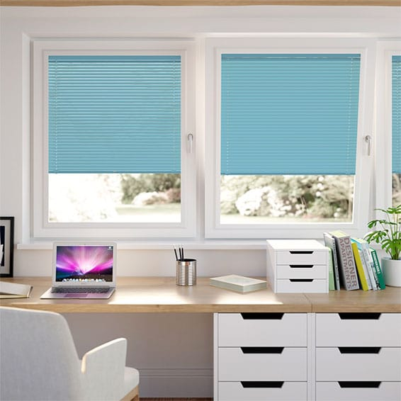 Swedish Blue PerfectFIT Venetian Blind