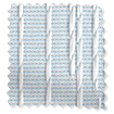 Perth Cornflower Vertical Blind slat image