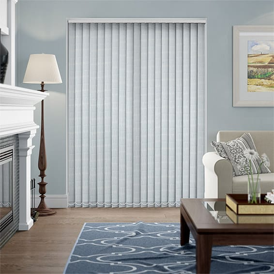 Perth Cornflower Vertical Blind