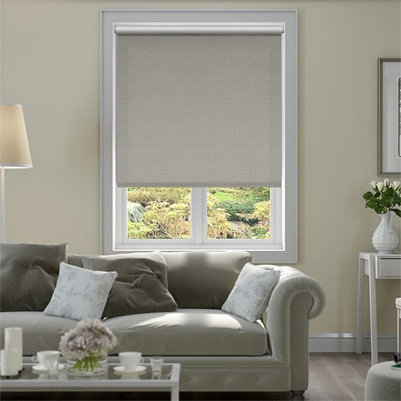 Plasma Chrome Blackout Roller Blind