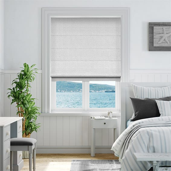 Plasma Nickel Roman Blind