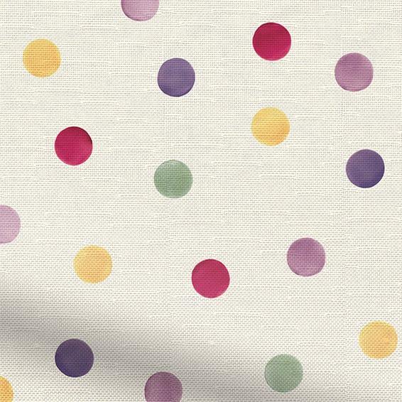 Polka Dot Purple Roller Blind