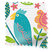 Polly & Friends Tropical Roman Blind slat image