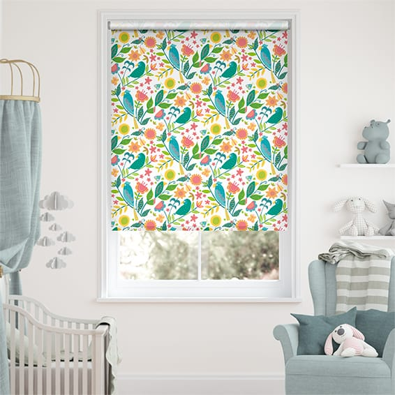 Polly & Friends Tropical Blackout Roller Blind