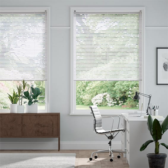 Essence Porcelain Venetian Blind - 25mm Slat