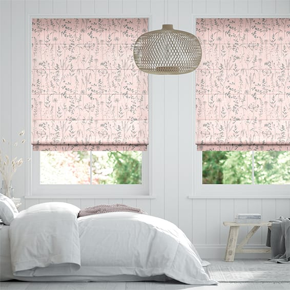 Prairie Blush Roman Blind