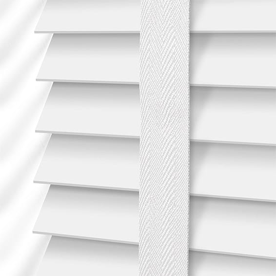 White Wooden Blinds 2go Shop Easy Clean White Wooden