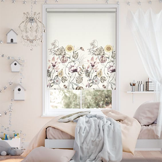 Quintessence Border Stone Roller Blind