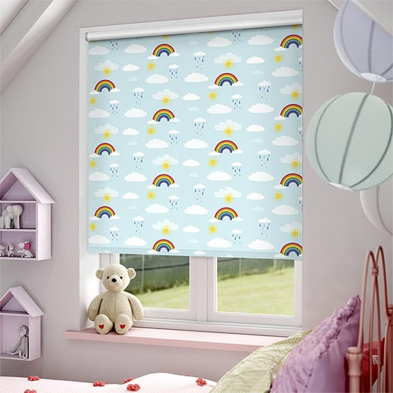 Rainbow Sky Blackout Roller Blind