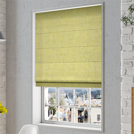 Rockhampton Daffodil Roman Blind