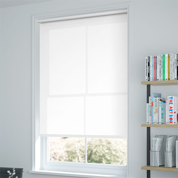 Kitchen Blinds Versatile And Robust White Roller Blinds