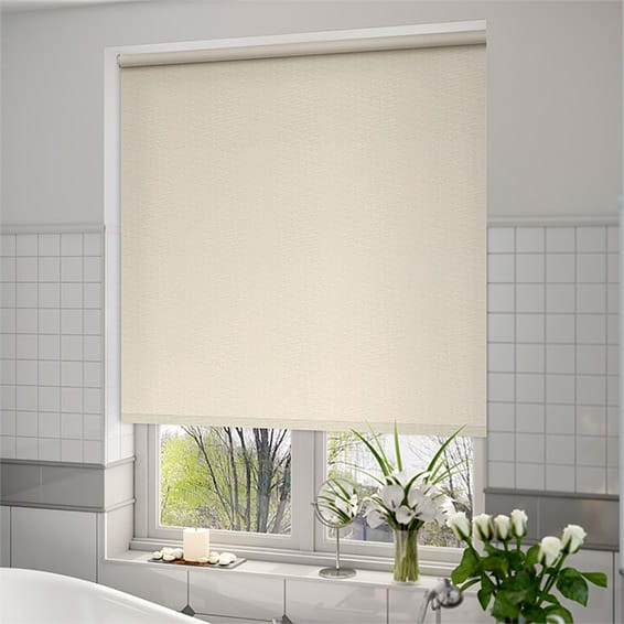 Ocean Buttermilk Roller Blind