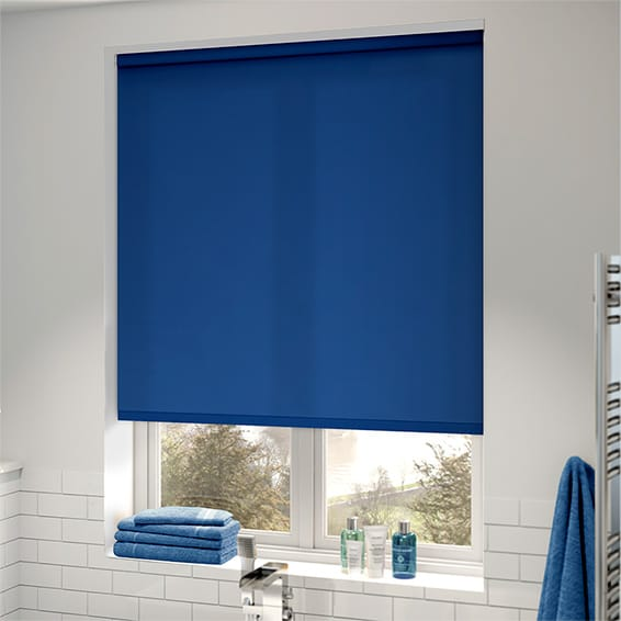roman treatments designer light blinds flexible blindsgalore stripes with bedroom shades control window blue